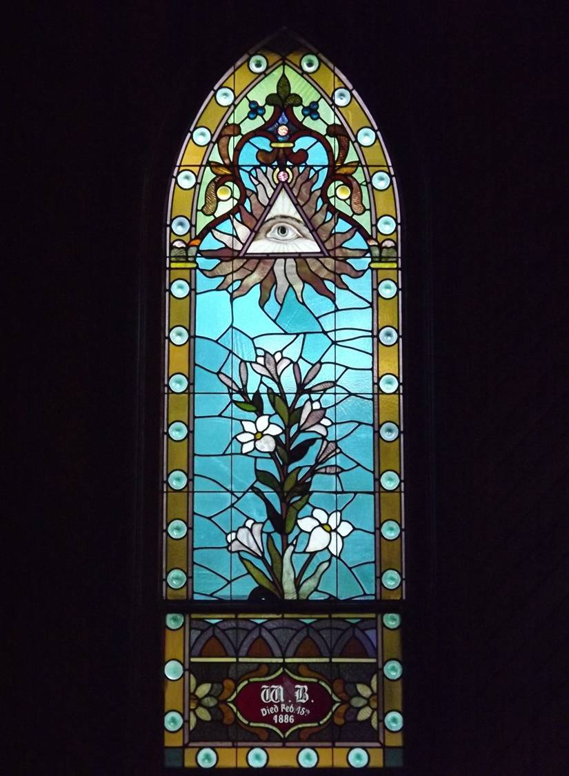 picture of lily window