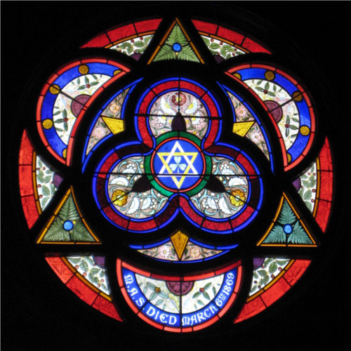 picture of rose window