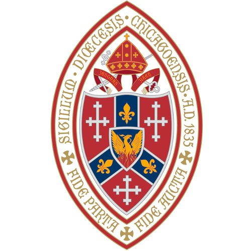 picture of shield of diocese of chicago