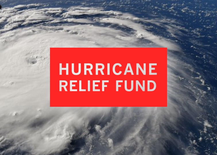 picture of hurricane relief logo