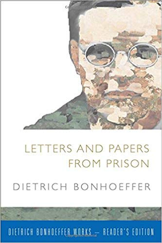 picture of book cover of letters and papers from prison