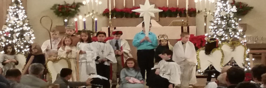 picture of christmas pageant